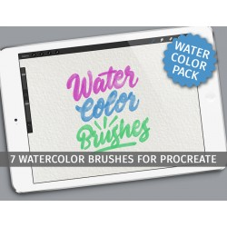 Watercolor brushes for...