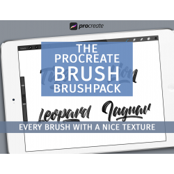 Brush brushpack for Procreate