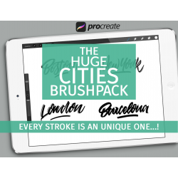 Cities brushpack for Procreate