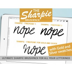 Sharpie finePoint brush pack