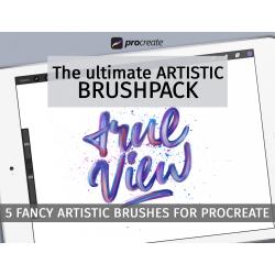 Artistic brushpack for...