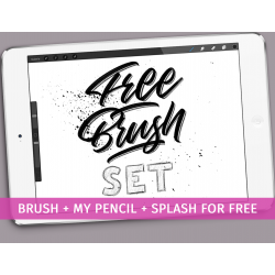 Free Brush Set for Procreate