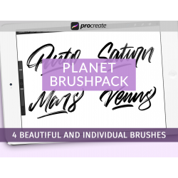 Planet Brushpack for Procreate