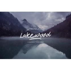 Lakewood - Handmade font