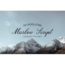 Marlow - Handmade font