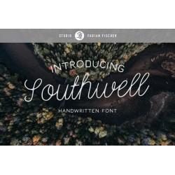 Southwell - Handmade font